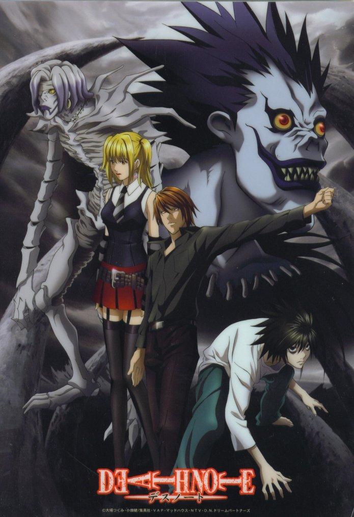 Théorie : La Ressemblance Death Note - Psycho-Pass = Possible suite fictive/lointaine ?