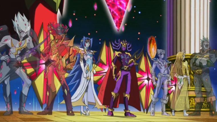 Personnages de ZeXal : Les 7 Empereurs de Barian~