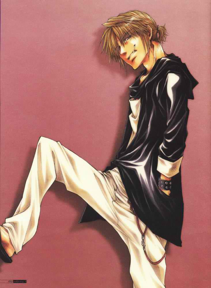 Personnages de Saiyuki : La Sanzo-Ikko ~ ^o^ !