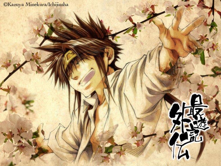 Personnages de Saiyuki : La Konzen-Ikko ~ ^o^ !