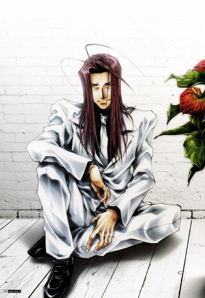 Personnage de Saiyuki, Fiche Complète : Sha Gojyo.