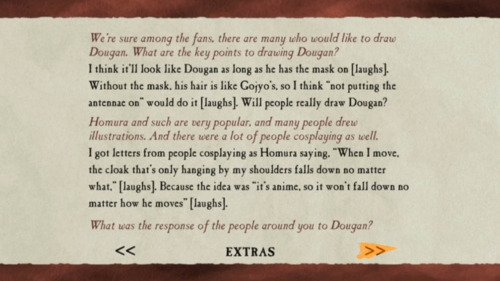 Saiyuki - Interview de Kazuya Minekura sur le Film Requiem (Version Anglaise/Incomplète).