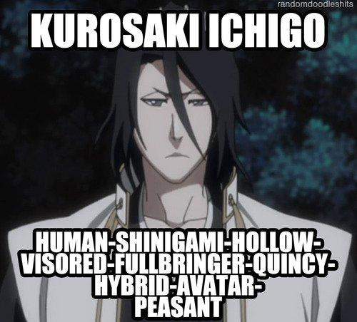 Ichigo Kurosaki : L'ÊTRE ULTIME ! XD