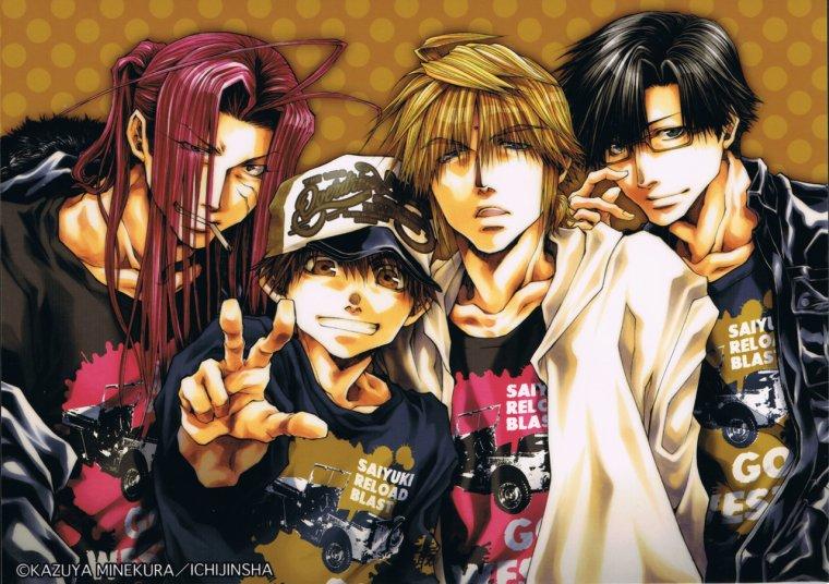 Chronologie Officielle de Saiyuki :)