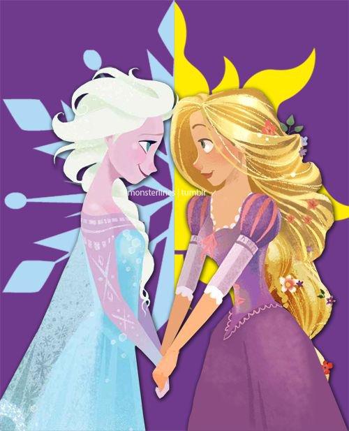 Théories sur Raiponce et la Reine des Neiges : Les Princesses Elèmentaires.