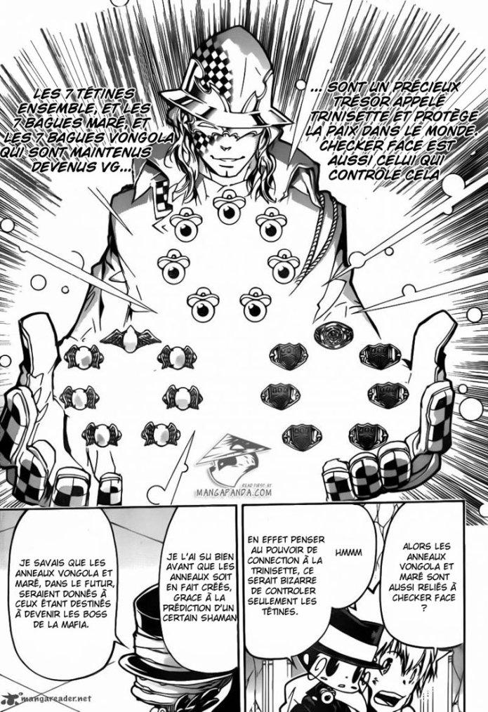 Théorie sur Kateikyoushi Hitman Reborn : L'Utopie de Byakuran.