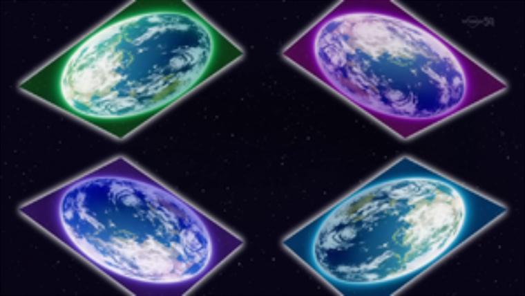 Théorie sur Arc-V : Yuya, Yuto, Yugo et Yuri, sont le Dieu de la Fusion.
