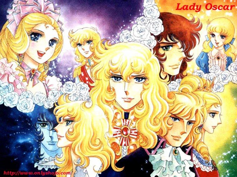 Théories sur Cinq Univers Shojos : Lien entre Candy Candy, Lady Georgie, Lady Oscar, Gwendoline et Ashita no Nadja ?