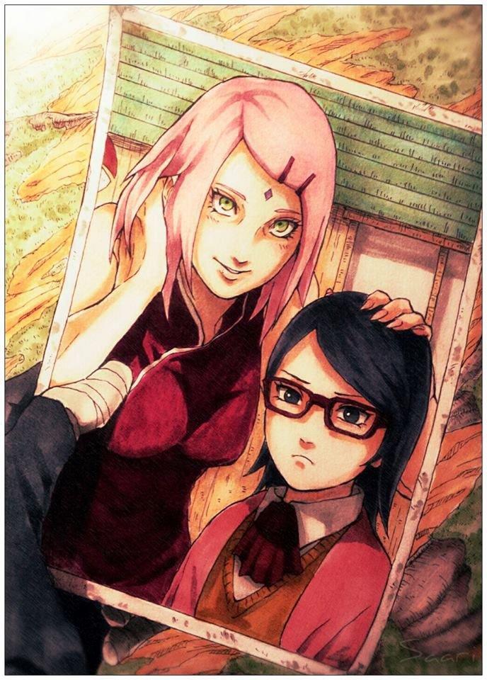 Théories sur Naruto : Les Origines de Sarada Uchiwa.