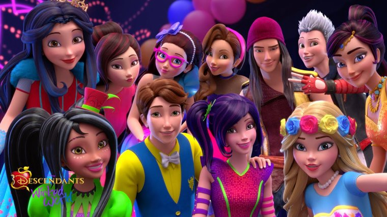Personnages de Descendants : Liste des Enfants, de nos Personnages Disney Préférés - Gentils, comme Méchants ^o^ !