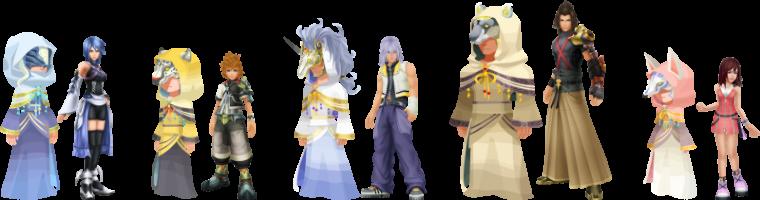 Théorie sur Kingdom Hearts : La Réincarnation des Prophètes.