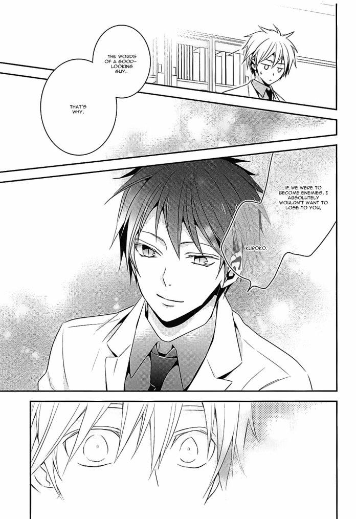 """Doujinshi : """"Kuroko Tetsuya is Mine"""" (AkaKuro) - Partie 3/3."""