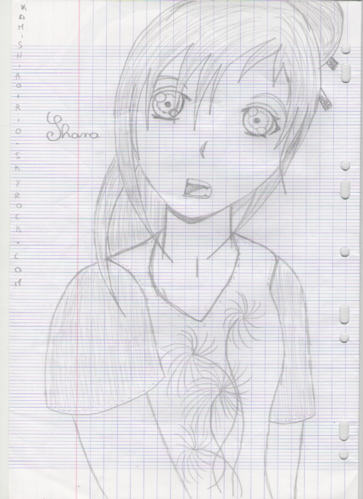 Dessins de Shana et Madison.
