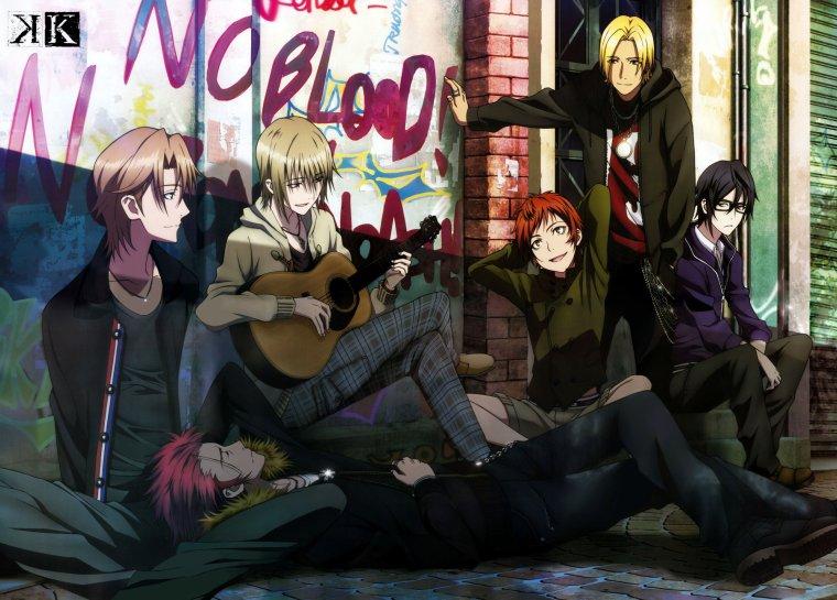 Présentation d'Animes/Mangas : K (Project).