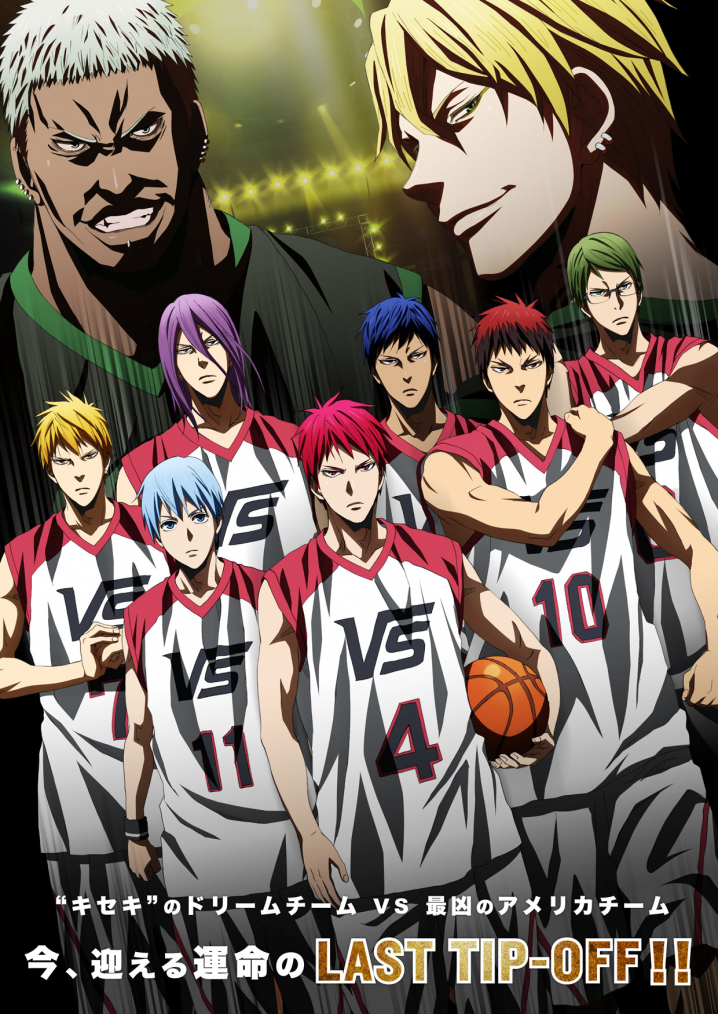 La Fin de Kuroko no Basket : Last Game (ENORMES SPOILERS !).