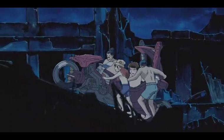 Théorie sur Yu-Gi-Oh ! GX-5D's : L'Île de Domino City.