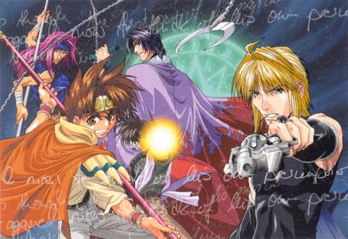 Personnages de Saiyuki : Les Personnages Liés aux Figures Divines ~ ^o^ !