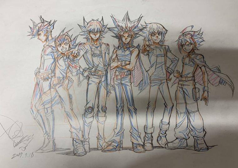 Nouveaux dessins de Gilbo Noh (Animateur de Yu-Gi-Oh !).