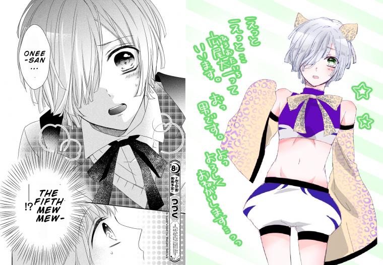 La Présentation des Mew Mew, Issues de Tokyo Mew Mew Au Lait ^o^ ~ !