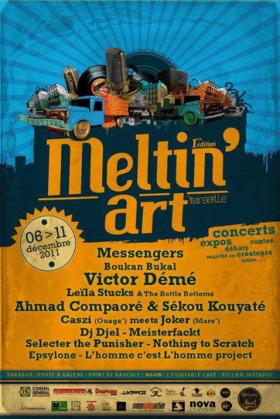 RETROUVE EPSYLONE AU FESTIVAL MELTIN' ART LE 11 DECEMBRE !!!