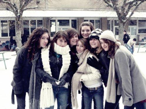La plus belle fiertée, a été de les appeler ; nos Meilleures amies ♥