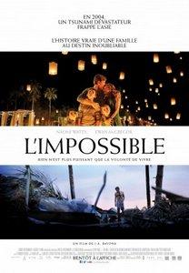 L'impossible. FiLM / SÉRiE / ACTEUR