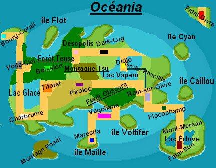 La région Océania