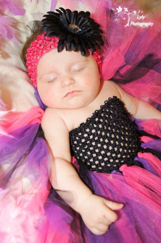 ma fille alizéa 4 mois