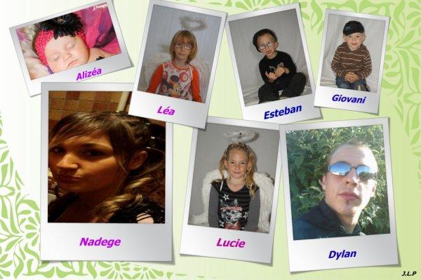 mes 7 enfants