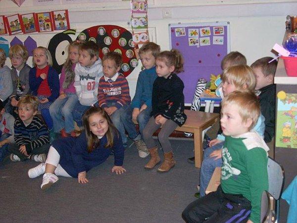 Ecole Gilles 2 de kleuterklas sint amandus school