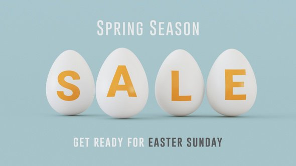 Easter Sale 10% DISCOUNT