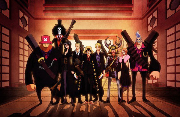 one piece strong world !!