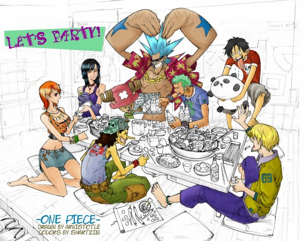 one piece !! <3<3