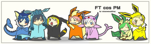 Fairy Tail Pokemon