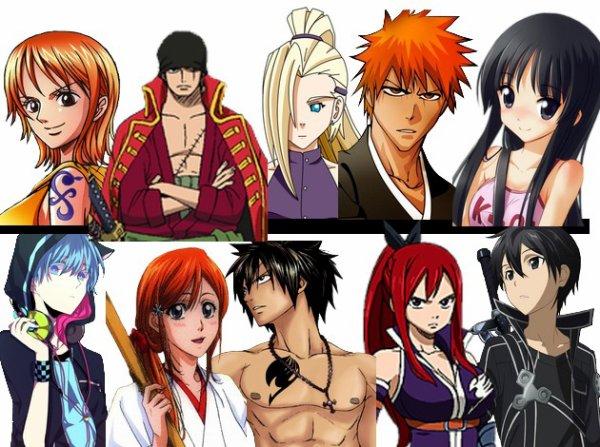 quelle personnage manga est tu ? ;)
