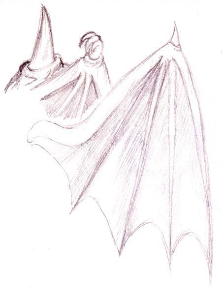Comment on dessine des ailes du fun du manga - Aile de dragon dessin ...