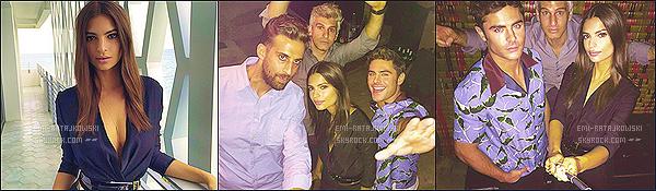 . 15/08/2015 - Emily R. s'est rendue à l'avant-première de We Are Your Friends qui se tenait à Miami. La jolie brune était vêtue d'une combinaison pantalon noire. Je trouve notre Emily vraiment magnifique. - C'est donc un très joli top! .