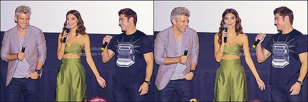 . 18/08/2015 - Emi' R. était présente lors de l'avant-première de «We Are Your Friends» à New-York. La jolie brune était -comme toujours- avec le réalisateur, Max Joseph et sa co-star, Zac Efron. Emi' était tellement radieuse. Un gros top ! .