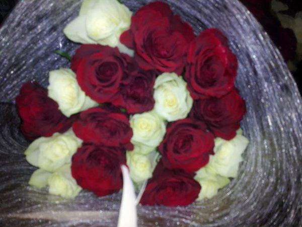 bouquet de fleur que je me suis offert et fait :D
