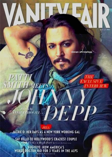 • ENFIN une couverture et c'est pour Vanity Fair (les autres arrivent) •