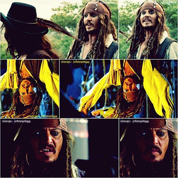 • Nouveaux stills EXTRA de Jack dans Pirates des Caraïbes 4 •