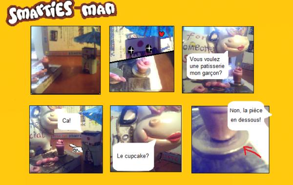 Smarties-Man est de retour sur nos écrans!