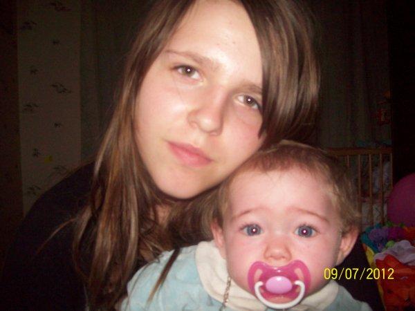 mon bonheur totale mes deux filles et mon fiston