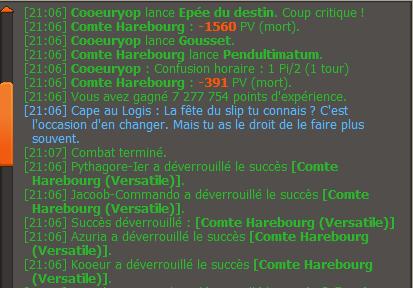 Comte + Nileza vaincu