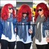 26 Juin 2011 - Rihanna fa été aperçue à l'aéoport de Los.Angeles.