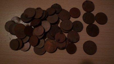 Quelque piece en centime d'euro