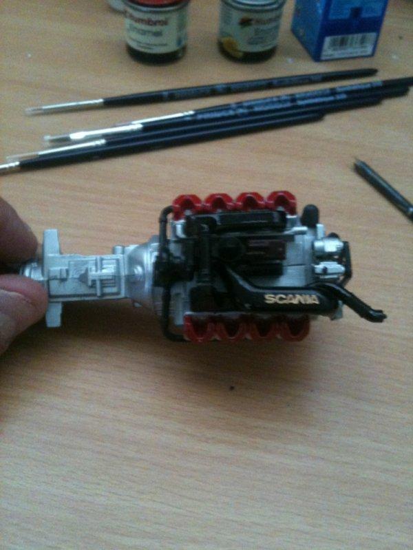 Scania R620 Atelier