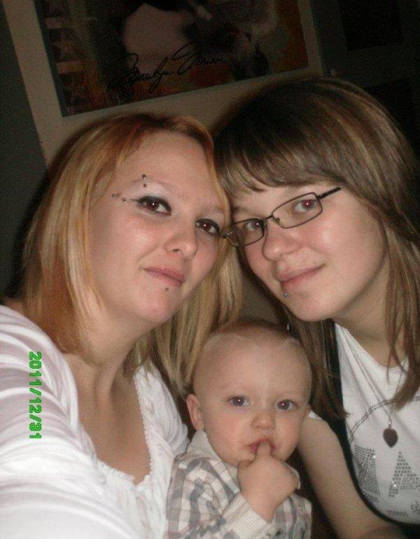 Ma belle soeur mon filleul & moi