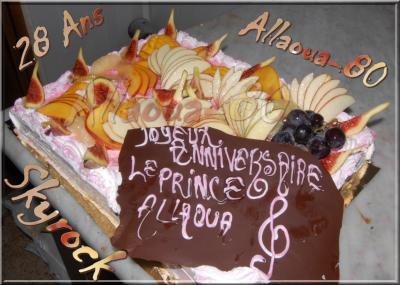 Joyeux Anniversaire Le Prince Allaoua 28 Ans Le Prince Mohamed