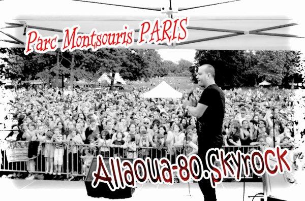 Le Prince  ALLAOUA  Au Parc Montsouris PARIS 14ème Samedi 30 Juin 2012